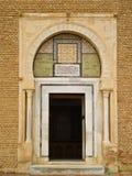 Door in Tunisia. Historical door in Tunisia, Kairouan Royalty Free Stock Photos