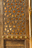 Door of Uc Serefeli Mosque Royalty Free Stock Photography