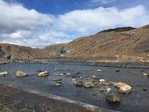 Door Upsala-Gletsjer - grootst van zijn soort in Zuid-Amerika stock foto's