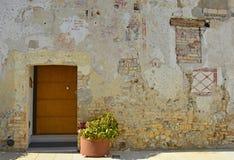 Door in Valvasone Royalty Free Stock Image