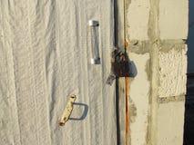 Door of the vault Stock Image