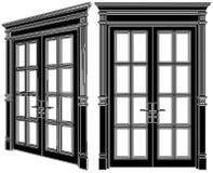 Door Vector 02. Decoration Door Isolated Illustration Vector Royalty Free Stock Photos