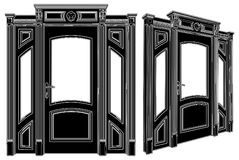 Door Vector 03 Royalty Free Stock Photos
