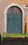 Door in Venice Royalty Free Stock Photos
