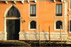 Door on Venice Canal Stock Photos