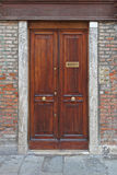 Door in Venice Royalty Free Stock Images