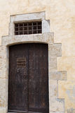 Door view outdoors from house Stock Photography