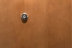 Door viewer Stock Photography