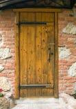 Door and wall Stock Image