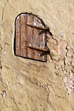 Door on the wall. Royalty Free Stock Images