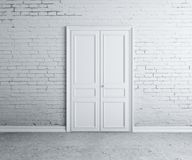 Door in wall Royalty Free Stock Photography