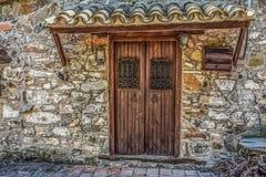 Door, Wall, Stone Wall, Facade Royalty Free Stock Image