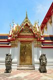 Door at Wat Pho Temple Royalty Free Stock Photography