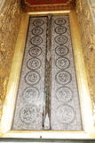The Door at Wat Phra Kaew Stock Photo