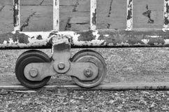 Door wheel Stock Photo