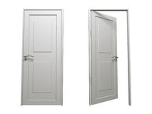Door (White). This is a home related graphics Stock Image