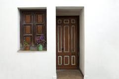 Door and window Stock Photos