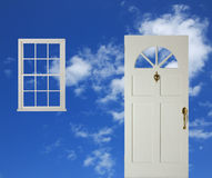Door and window Stock Photography