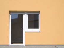 Door and window Stock Images