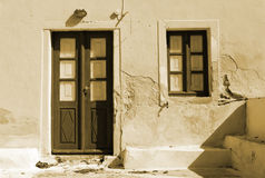 Door and window Royalty Free Stock Images