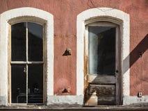 Door and window Stock Images