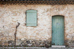 Door Window Walking Stick Stock Photos