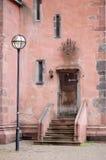 Door and windows. Old Door and windows in Frankfurt, Germany Stock Photo