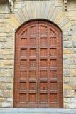 The door. The Windows and door design royalty free stock photography