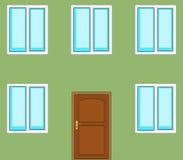 Door and windows Stock Photography