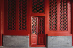 The door and windows, made in traditional chinese style. The door and windows, made in traditional style, China texture royalty free stock image