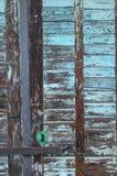 Door of the wine cellar. The front door of an old wine cellar at Kesztölc Royalty Free Stock Image