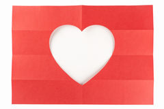 4 door wit hart 2 Royalty-vrije Stock Foto's