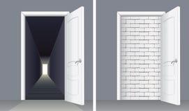 Free Door With Brick Wall And Door To Basement Royalty Free Stock Photos - 86083658