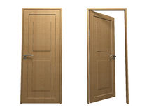 Door (Wood). This is a home related graphics Stock Photography