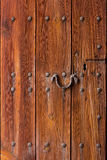 Door wood old strong security Stock Photo