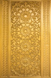 Door woodcarving Royalty Free Stock Photography