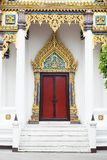 Door  woodcarving in thailand Royalty Free Stock Photos