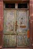 Door. Wooden door in san miguel de allende in mexico stock photography