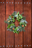 Door wreath Stock Photos