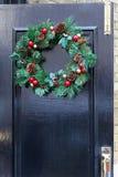 Door wreath Royalty Free Stock Photography