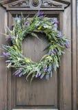 Door Wreath Stock Image