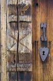 Door& X27;s Detail, Uvdal Stavkirke, Norway Royalty Free Stock Images