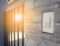 Doorbell ή σειρήνα στοκ εικόνες