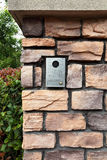 doorbell βασική ασφάλεια στοκ εικόνες