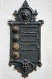 doorbell ηλεκτρικός γοτθικός τ&rh στοκ εικόνες