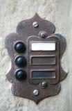 doorbell ηλεκτρικός τρύγος στοκ φωτογραφίες