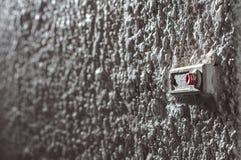 Doorbell με το κόκκινο κουμπί Στοκ Εικόνες