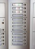 Doorbell σε ένα νοικιασμένο σπίτι Στοκ Εικόνες