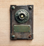 Doorbell in vintage style Royalty Free Stock Images