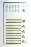 Doorbell whitout name Stock Images